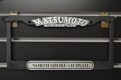 MATSUMOTO Shave Ice(2colors) Licence plate frames