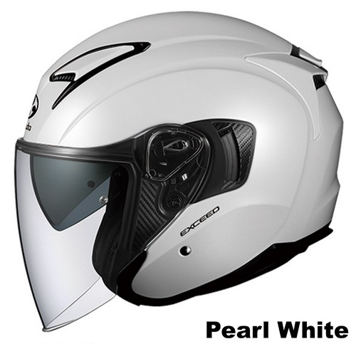 OGK EXCEED Pearl White