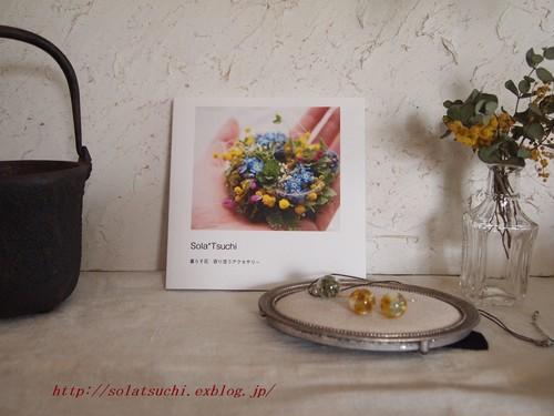 Sola*Tsuchi オリジナルフォトブック「暮らす花 寄り添うアクセサリー」