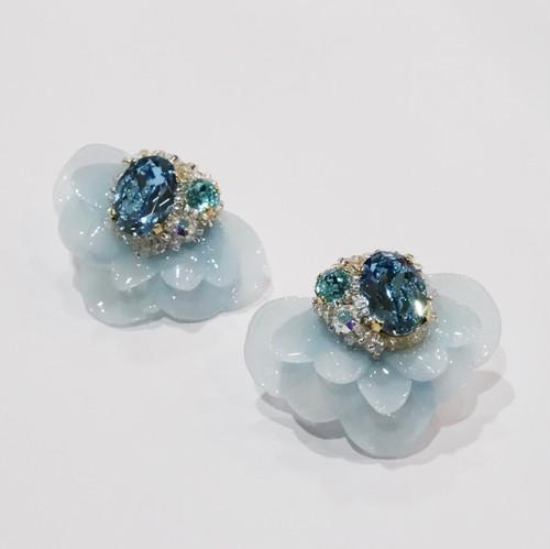 【ピアス.8】phantomFLOWER crystal