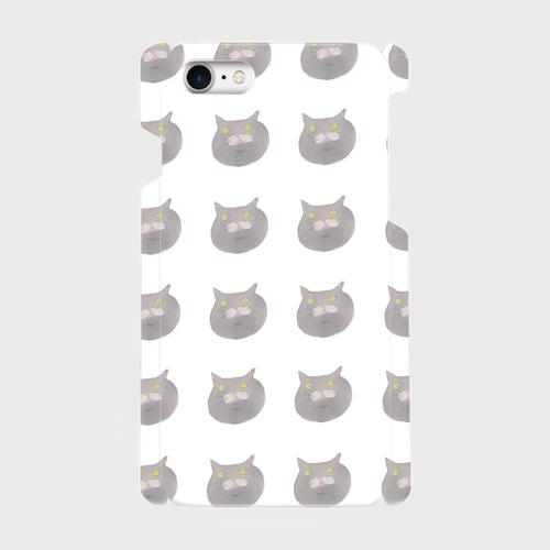 ブリショのムチャ 側表面印刷スマホケース iPhone7 ツヤ有り(コート)