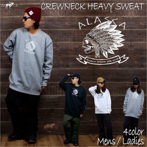 CREWNECK HEAVY SWEAT ALASCA indy as-35