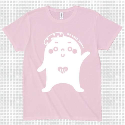 ゆっポくんTシャツ〈M〉ピンク