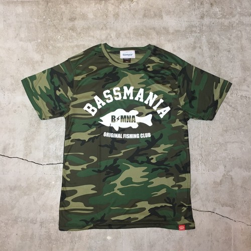 arch logo camouflage dry Tee 【woodland】