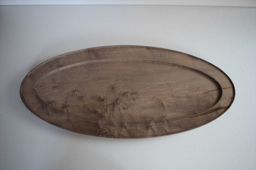 北山栄太|ポワソン(鉄染) オーバル皿