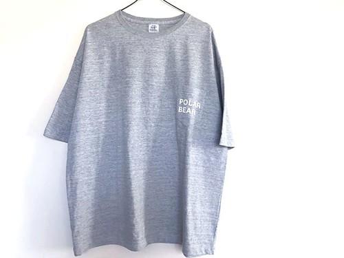 MOUJYUFUFU ポケットTシャツ しろくま