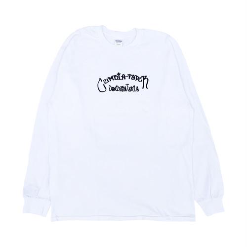 CUMBIA PODER Sonidero Tokyo L/S Tee -White-