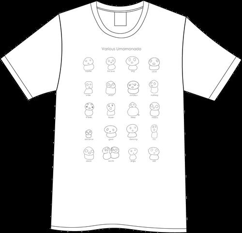 various Umamonado Tシャツ