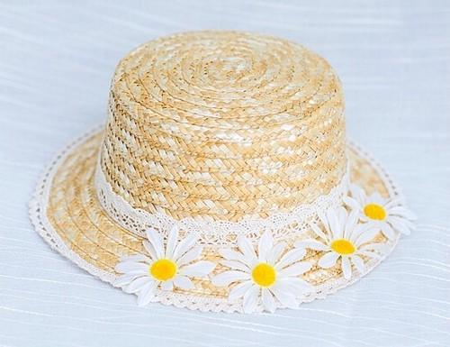 マーガレット カンカン帽