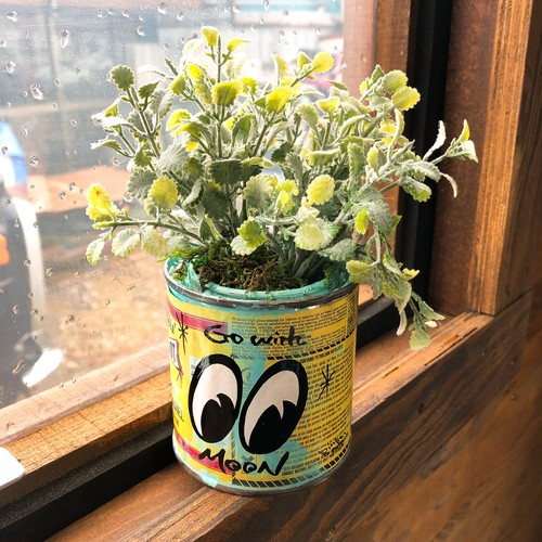1Shot paint缶 EYES ペイント フェイクグリーン インテリア