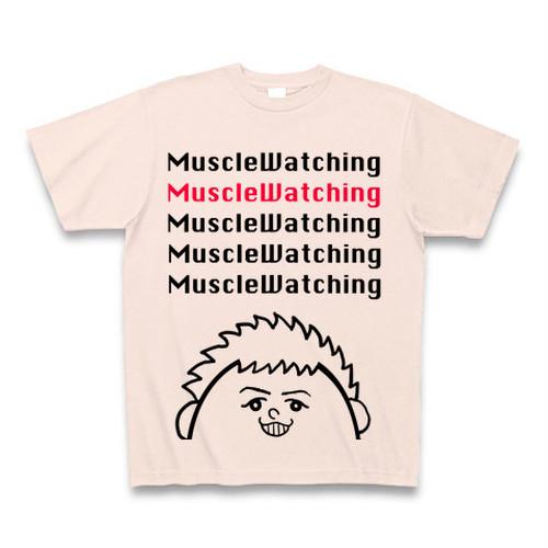 ライトピンクでかもじでかいねまるくんTシャツ