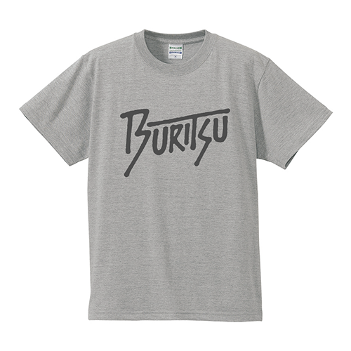 BURITSU Tagging Logo Tee : Gray