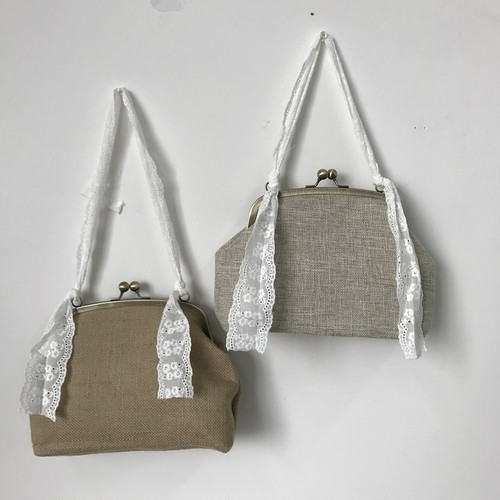 lace hand coin bag 2358