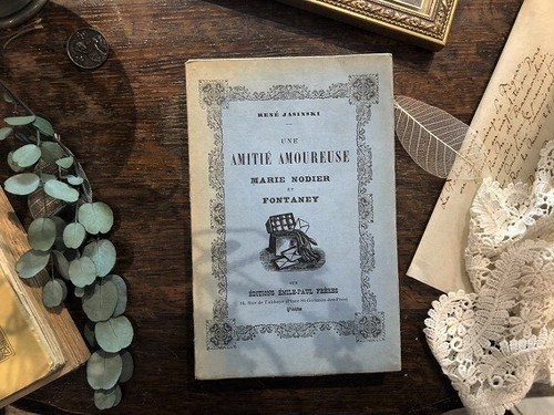 【CV401】UNE AMITIÉ AMOUREUSE / display book