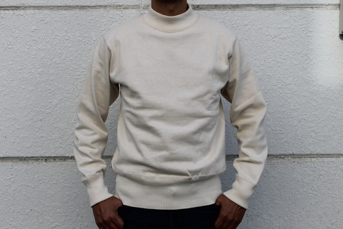 WORKERS / Heavy Cotton Cut&sew Sweaters USN Cotton Sweater