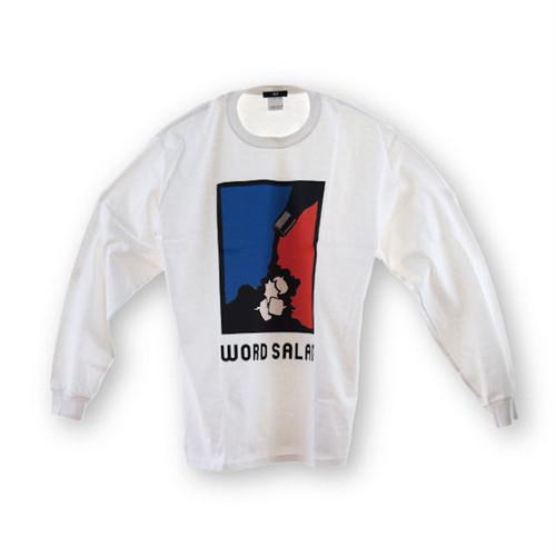 Ari WORD SALAD L/S Tee -White-