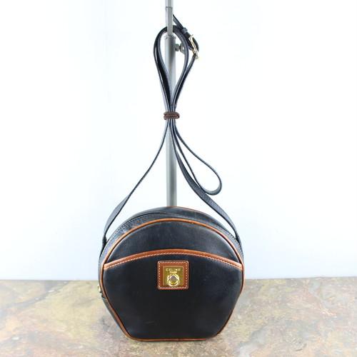 .OLD CELINE BICOLOR LOGO LEATHER SHOULDER BAG MADE IN ITALY/オールドセリーヌバイカラーロゴレザーショルダーバッグ2000000049601