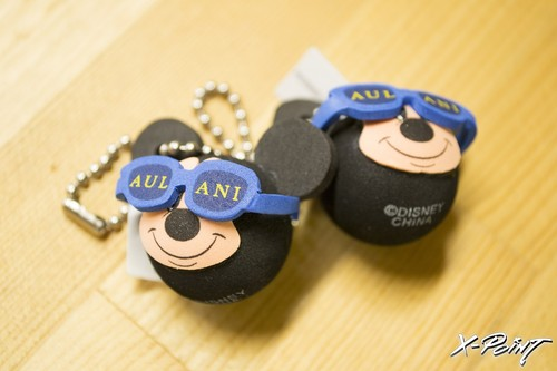 HAWAII限定 AULANI Mickey Key chain