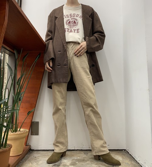 1990s MADE IN ITALY Levi's 551 corduroy pants 【W28L30】