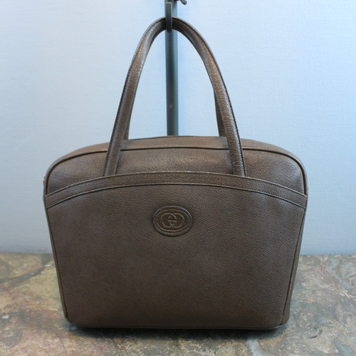 .OLD GUCCI LEATHER HAND BAG MADE IN ITALY/オールドグッチレザーハンドバッグ 2000000034256