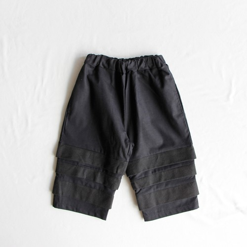 《UNIONINI 2018AW》layer pants / black