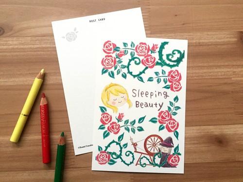 オリジナルポストカード*眠り姫