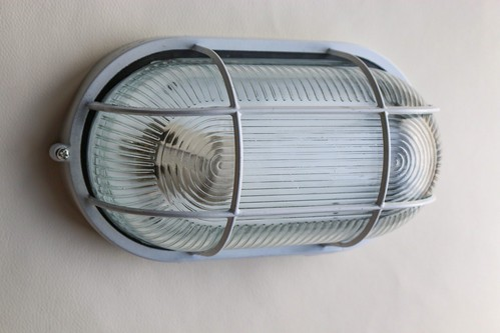 インダストリアル ランプ ブラケットライト 壁付け 天井 船舶風(楕円M)