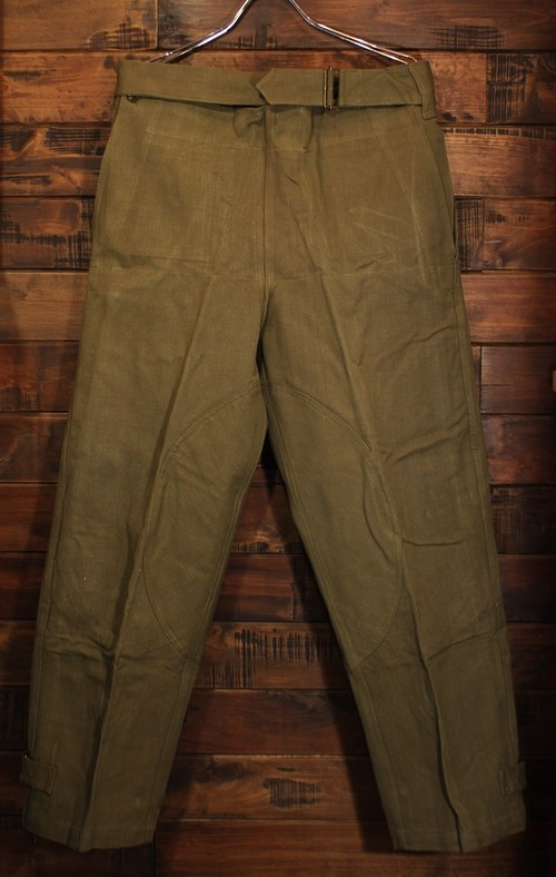 50S FRENCH ARMY MOTORCYCLE PANTS