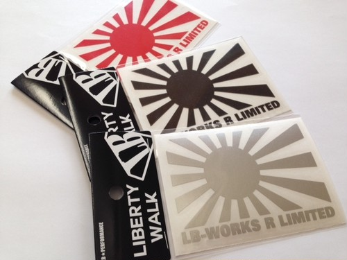 LB-WORKS R LIMITED sticker