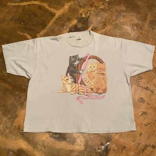 90s Print T-shirt / CAT