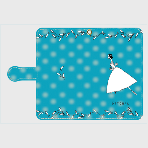 (Android) ウィリー 手帳型スマホケース
