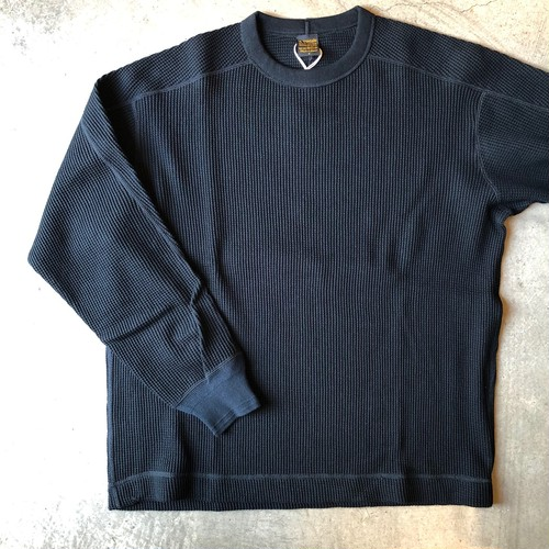 A VONTADE アボンタージ  BD Waffle Mil. Crew L/S