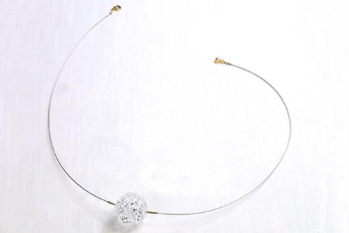HAU-005 kira-ball (ネックレス/シルバー/L)