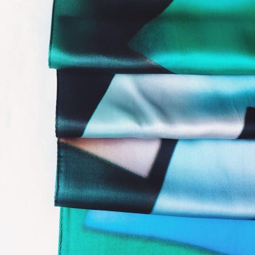 La スカーフ wakaba 90cm
