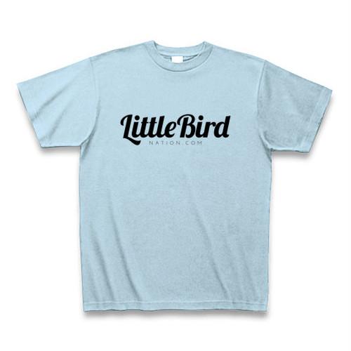 ライトブルー LittleBirdNation.comオフィシャル・Tシャツ