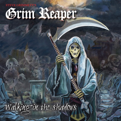 "STEVE GRIMMETT'S GRIM REAPER ""Walking In The Shadows"""