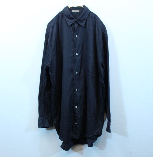 .Y's YOHJI YAMAMOTO LONG SLEEVE SHIRT MADE IN JAPAN/ワイズヨウジヤマモト長袖シャツ 2000000031637