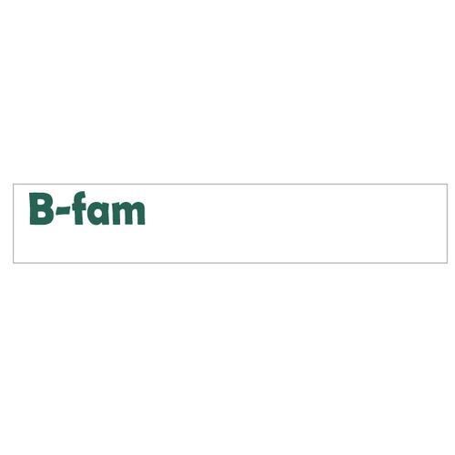 B-famタオル  White