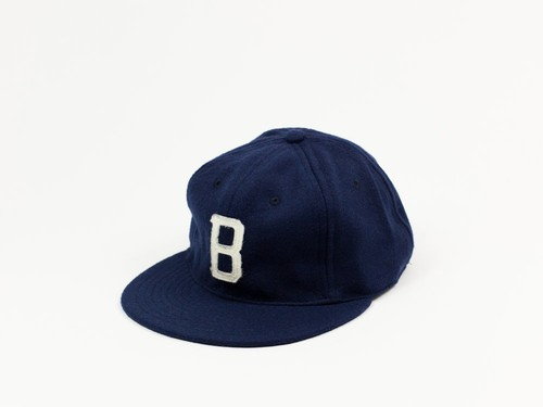 MINOR LEAGUE WOOL BALL CAP - NAVY