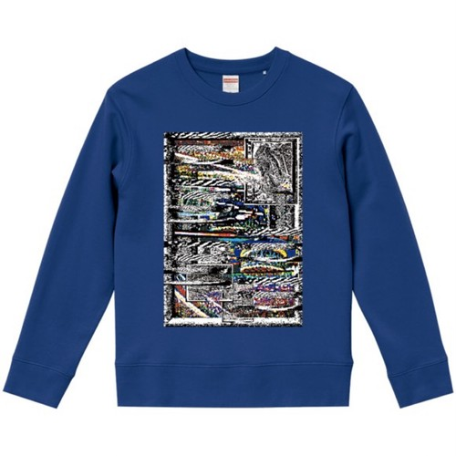 """dib"" 【Undeveloped Vision Puzzle】  GRAPHIC SWEAT SHIRT"