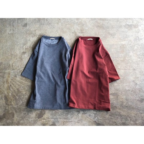 LAMOND (ラモンド) Autumn Terry Cloth Tee
