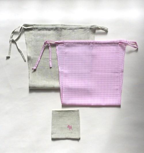 【福袋】ふんどしパンツ2枚+リネンミニハンカチ