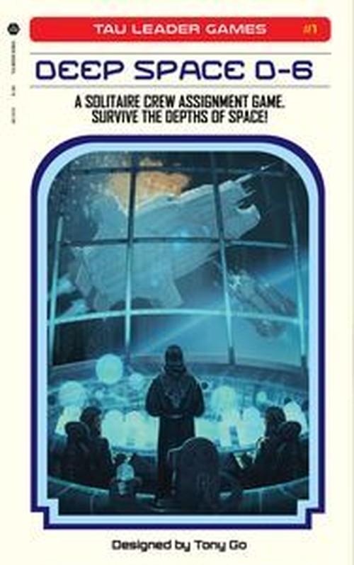 ディープスペース D-6(Deep Space D-6) 和訳説明書・シール付き