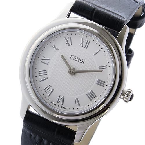 フェンディ FENDI クラシコ ラウンド CLASSICO クオーツ レディース 腕時計 F250024011 ホワイト ホワイト