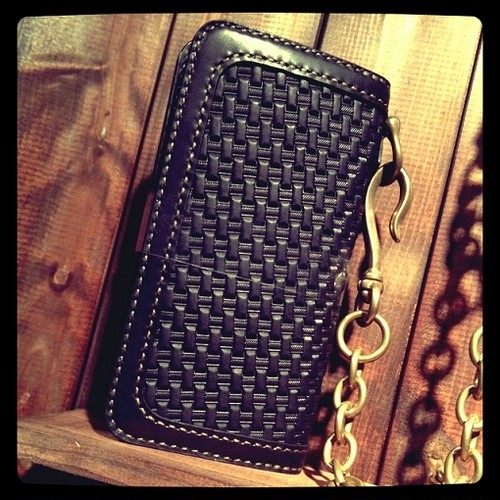 【Frame basket wallet-s】