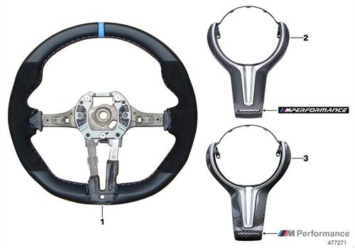 (予約販売)BMW M Performance スポーツ・ステアリング・ホイール II F87M2 / F80M3 / F82M4 / F83M4 弊社限定サービスBMW社発行取付説明書付属