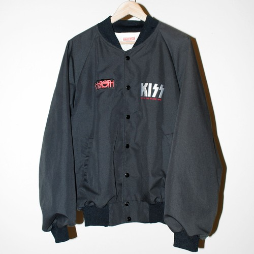 """『KISS』 1990 """"Hot in The Shade"""" tour crew jacket"""