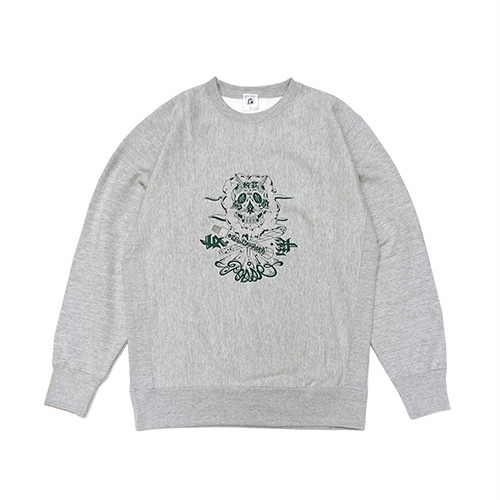 GOWST - MATOMO POSSE CREWNECK SWEAT (Grey)