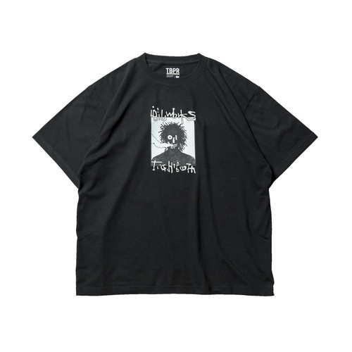 TIGHTBOOTH OILWORKS SMORKER T-SHIRT BLACK L