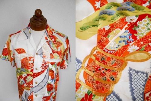 着物アロハシャツ AL-594/M